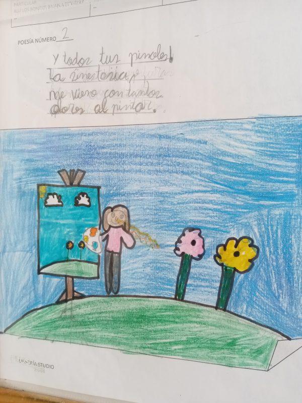 Actividad de II Premio de Poesía Infantil Gloria Fuertes