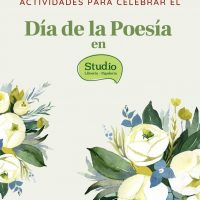 Día de la poesía con Librería Studio