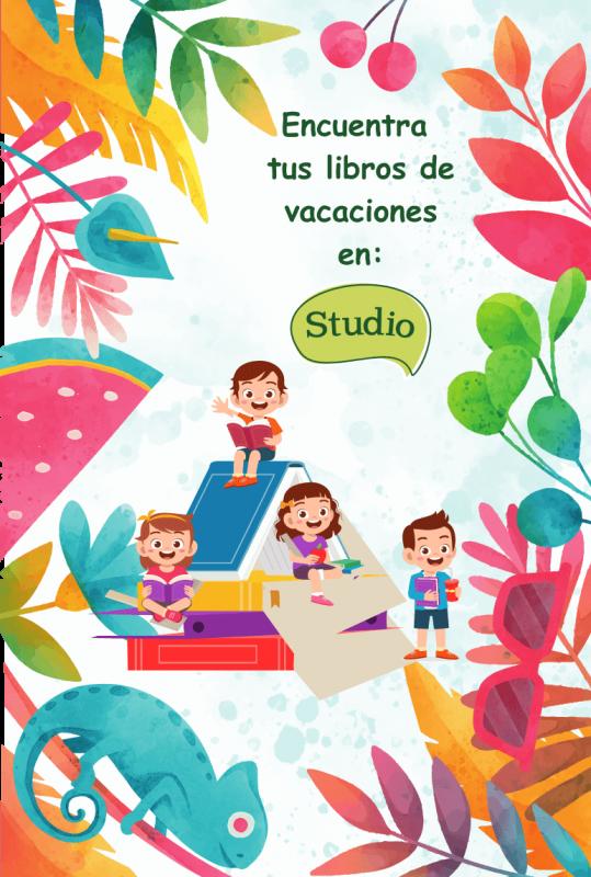 Encuentra todos los libros de vacaciones en nuestra librería